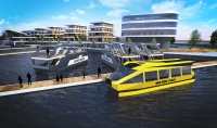 Marina, WaterHouse, WaterTaxi - projekt koncepcyjny