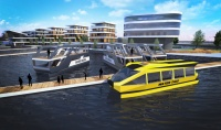 Marina, WaterHouse , WaterTaxi - conceptual design