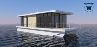 Houseboat White - running project