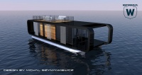 Modern Houseboat - running project
