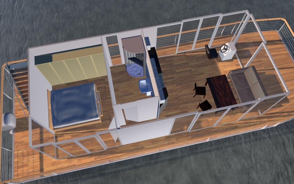 Houseboat Quot Diy Quot 12m Houseboat Waterbus