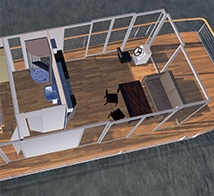 "Houseboat ""DIY"" 12m"